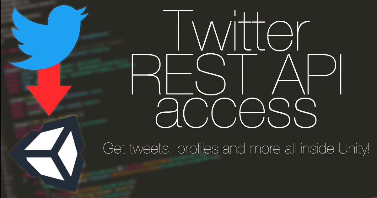 Twitter REST API Access Tools for Unity, now on Itch.io!